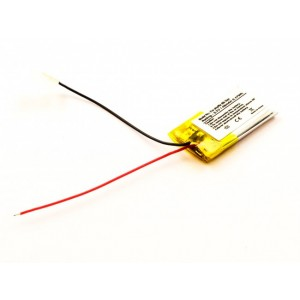 Bateria para Apple iPod iPod Shuffle 5th, Li-Polymer, 3,7V, 45mAh, 0,17Wh