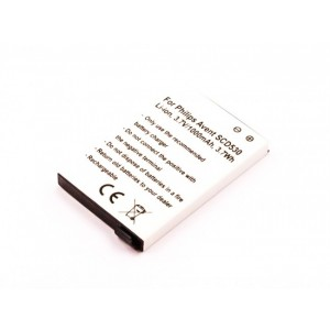 Bateria monitor Philips Avent SCD530 compatível 3,7V 1000mAh 3.7Wh
