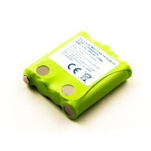 Bateria para Motorola TLKR-T4, 4,8V 700mAh 3,4Wh