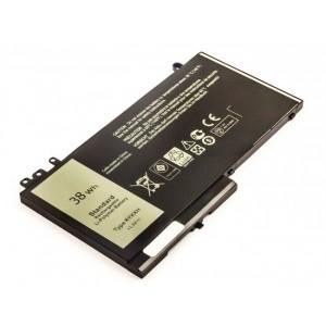 Bateria Dell Latitude 11 3150, 3160, 12 5250, 12 5270 compatível 11,1V 3420mAh 38Wh