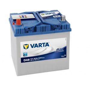 Bateria automóvel 12V 60Ah 540A VARTA Blue Dynamic D48