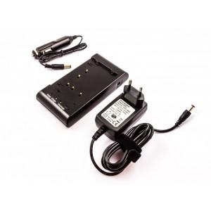 Carregador para bateria de máquinas fotográficas e vídeo antigas