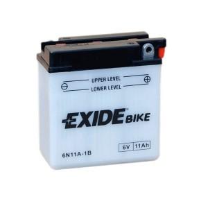 Bateria mota EXIDE 6N11A-1B, 6V 11Ah