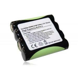 Bateria Philips CE0682 compatível 4,8V 700mAh 3.36Wh