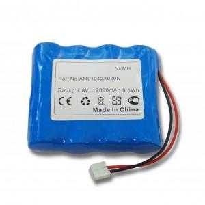 Bateria Philips Babyfon SBC-SC463 compatível 4,8V 2000mAh 9.6Wh