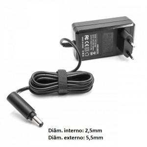 Transformador carregador Dyson 205720-02 compatível 21,6V 0,78A ponteira 5,5x2,5mm
