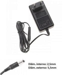 Transformador carregador Rowenta RS-RH5664 compatível 29V 0,75A ponteira 5,5x2,5mm