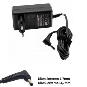 Transformador carregador Dyson V10 V11 compatível 30,45V 1,1A ponteira 4,7x1,7mm