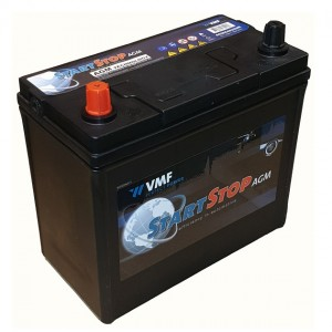 Bateria automóvel 12V 45Ah 350A VMF Start-Stop AGM