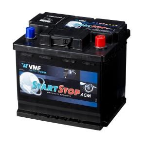 Bateria automóvel 12V 50Ah 540A VMF Start-Stop AGM