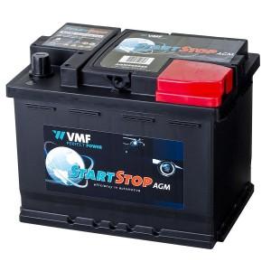 Bateria automóvel 12V 60Ah 680A VMF Start-Stop AGM