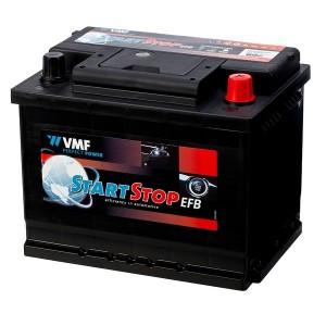 Bateria automóvel 12V 60Ah 560A VMF Start-Stop EFB