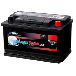 Bateria automóvel 12V 65Ah 650A VMF Start-Stop EFB