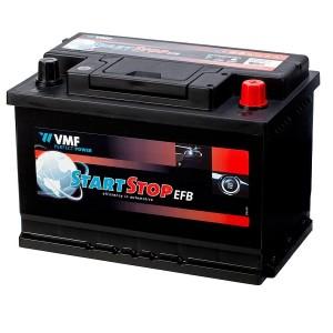 Bateria automóvel 12V 70Ah 650A VMF Start-Stop EFB