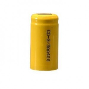 2/3 AA elemento NiCd (1,2v 400mAh)