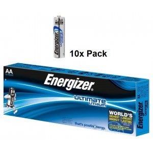 AA (LR06) Pilha 1,5V ENERGIZER Ultimate Lithium (10 unid)