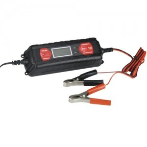 Carregador baterias chumbo-ácido 4A max - 6V e 12V (Absaar)