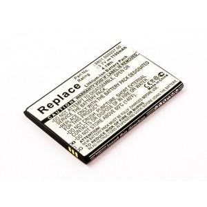 Bateria para GPS Blaupunkt America, 3,7V 1100mAh 4,1Wh