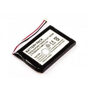 Bateria para GPS Blaupunkt TravelPilot 100 e 200, 3,7V 800mAh 3,0Wh