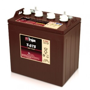 Bateria Trojan T-875 8V 170Ah Deep-Cycle