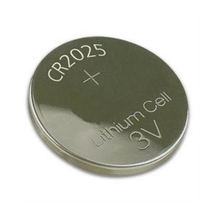 CR2025 pilha moeda (1 unid)