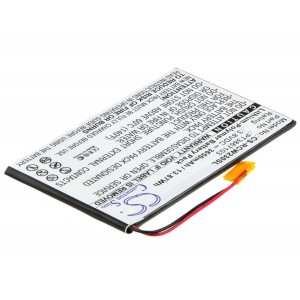 Bateria Li-Po HBT3867100 3,8v 3650mAh 13,9Wh (67*103*3,8 mm)
