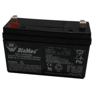 Bateria 4v 3,5Ah (term. F1) Diamec AGM standard