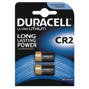 CR2 Pilha Lítio Duracell (2 unid)