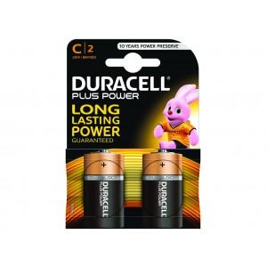 C (LR14) Pilha Alcalina Duracell Plus (2 unid)