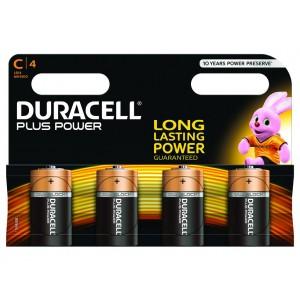 C (LR14) Pilha Alcalina Duracell Plus (4 unid)