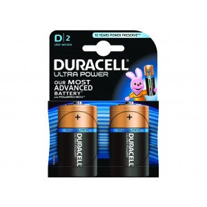 D (LR20) Pilha Alcalina Duracell Ultra (2 unid)
