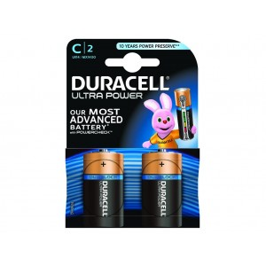 C (LR14) Pilha Alcalina Duracell Ultra (2 unid)