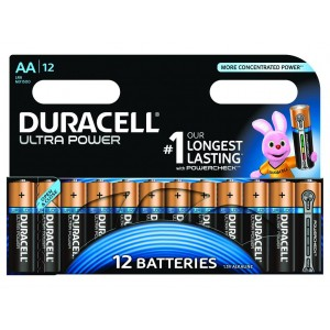 AA (LR06) Pilha Alcalina Duracell Ultra (12 unid)