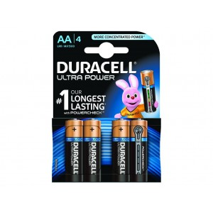 AA (LR06) Pilha Alcalina Duracell Ultra (4 unid)