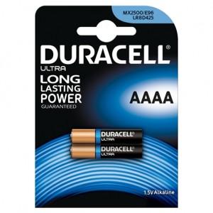AAAA (E96) Pilha Alcalina Duracell Ultra (2 unid)