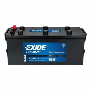 Bateria de camião 12V 180Ah 1000A +/- (#Exide TG1803)