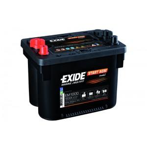 Bateria automóvel 12V 50Ah 800A AGM (#Exide EM1000)