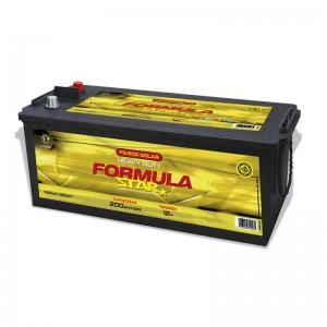 Bateria Solar 12V 200Ah (C100) Formula Star FS200