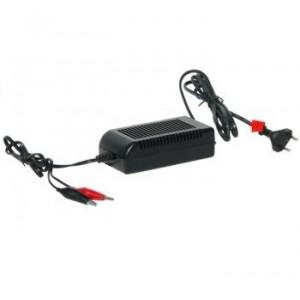 Carregador 12v 4A para baterias de chumbo e AGM