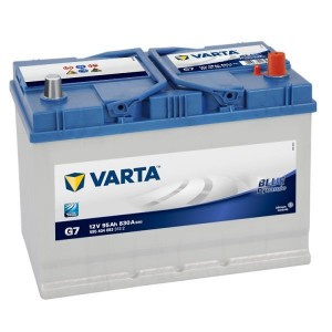 Bateria automóvel 12V 95Ah 830A VARTA Blue Dynamic G7