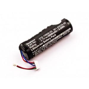 Bateria para GPS Garmin Astro System DC20, 3,7V 2600mAh 9,6Wh