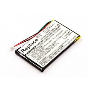 Bateria para GPS Garmin Nuvi 200 250 260, 3,7V 1250mAh 4,6Wh