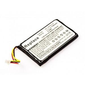 Bateria para Garmin Nuvi 30 / 40 / 50 / 55 / 65, 3,7V 1100mAh 4,1Wh