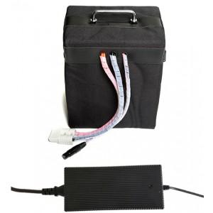 Bateria de Lítio (LiFePO4) 24V 48Ah + carregador