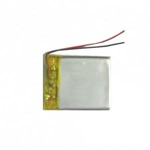 Bateria Li-Po HBT383450 3,7v 650mAh (34*50*3,8 mm)