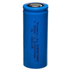 26650 elemento LiFePO4 3,2V 3400mAh