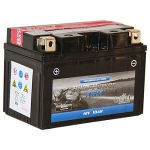 Bateria mota YT12A YTX12A 12V 10Ah INTACT alta performance 150x87x106mm +/-