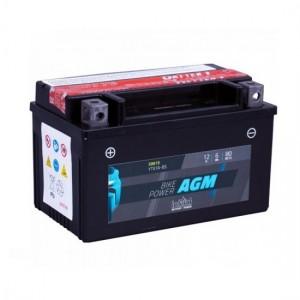 Bateria mota YTX7A-BS 12V 6Ah 80A INTACT alta performance 151x87x93mm +/-