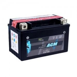 Bateria mota YTX9-BS 12V 8Ah 120A INTACT alta performance 150x87x105mm +/-