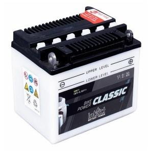 Bateria mota YB7C-A 12V 8Ah 50A INTACT alta performance 130x90x114mm -/+
